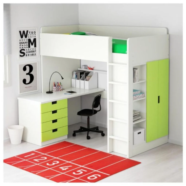 Working Table Bunk Bed Models